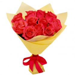 Букет «11 красных роз»